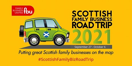 Sponsor The Scottish Family Business Road Trip Car tickets