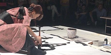 Japanese Calligraphy & Sumi-e demonstration & talk by Koshu: Akemi Lucas tickets