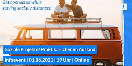 soziale Projekte/Praktika sicher im Ausland Tickets