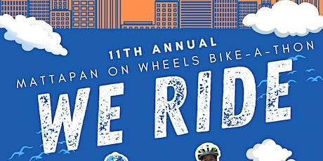 Mattapan on Wheels 11th Annual Bike-a-thon: We Ride tickets