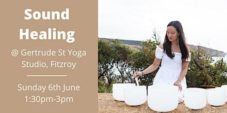Sound Healing- Melbourne Fitzroy tickets