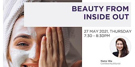 FREE Beauty from Inside Out Webinar tickets