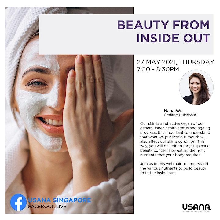 FREE Beauty from Inside Out Webinar image
