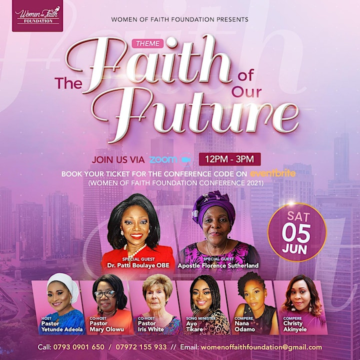 Women of Faith Foundation Conference 2021 image