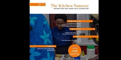 The Kitchen Samurai - Recipes That Will Make You A Cuisine Pro tickets