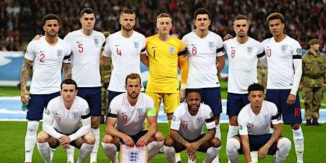 Euro 2020: England 1/4 Final. London Fan Park, hosted by a legend (TBC) tickets