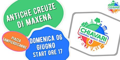 """ESCURSIONE """"ANTICHE CREUZE DI MAXENA"""" biglietti"""