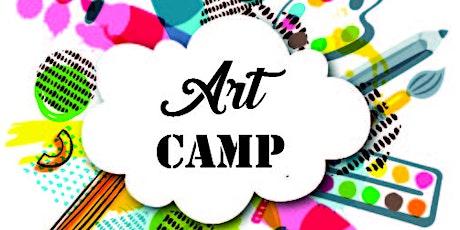Summer Art Camp 11AM-1PM Workshop tickets