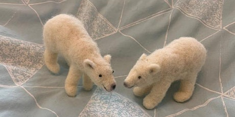 Needle Felted Polar Bear tickets
