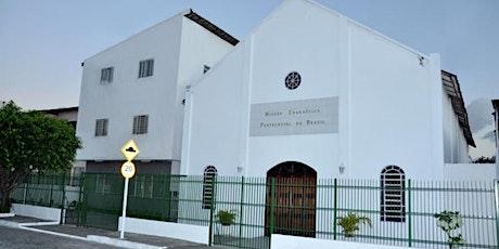09:30 as 11:00 - Primeiro Culto - Domingo Presencial - MEPB Casa Amarela ingressos