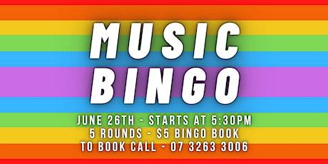 Music Bingo // Category is 80's Music tickets