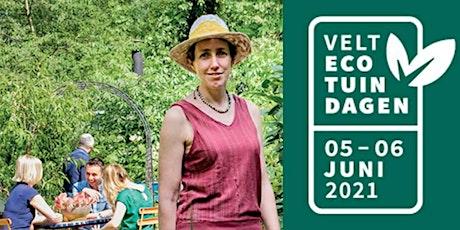 Bezoek aan de ecotuin van Wouter Van Rijsbergen tickets
