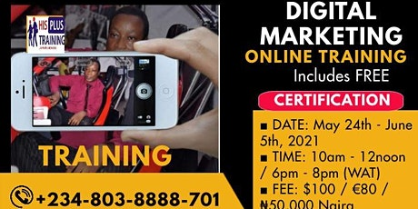Digital Marketing Training tickets
