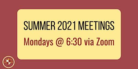 CSA General Meetings- Summer 2021 tickets