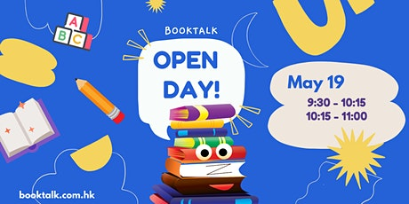 Book Talk Open Day!! tickets