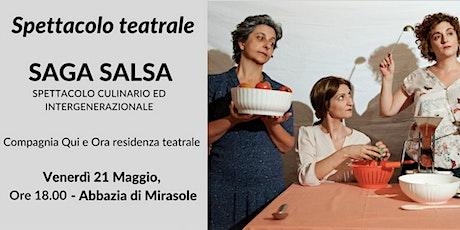 Saga Salsa – spettacolo culinario e intergenerazionale biglietti