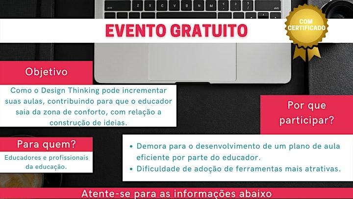Imagem do evento 2 passos para usar Design Thinking na Educação