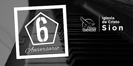 """1 Servicio Presencial """"6 Aniversario """" tickets"""