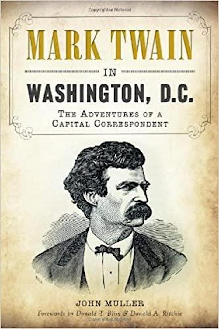 Walking Tour: Mark Twain in Washington, D.C. image