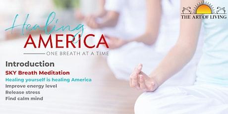 Healing America- Introductory SKY Breath Meditation tickets