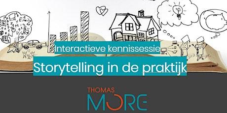 Interactieve sessie: storytelling in de praktijk tickets