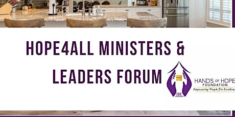 Hope4All Housing surgery Ministers/Leaders Forum tickets