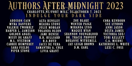 Authors After Midnight 2023 tickets
