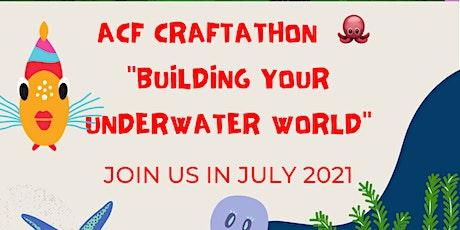"""Minecraft Hackathon(build  virtual """"underwater world"""") tickets"""
