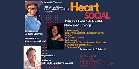 Heart Social Launch Party tickets