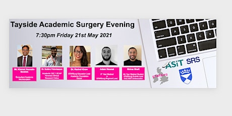 Tayside Academic Surgery evening tickets
