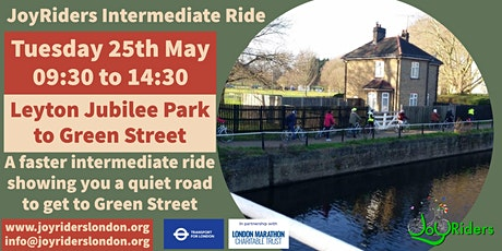 Intermediate Ride: Leyton Jubilee Park to Green Street tickets