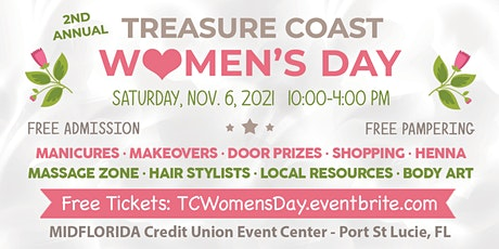 Treasure Coast Women's Day tickets