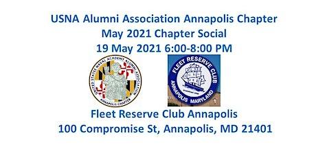 USNA Alumni Assn Annapolis Chapter May 2021 Social tickets