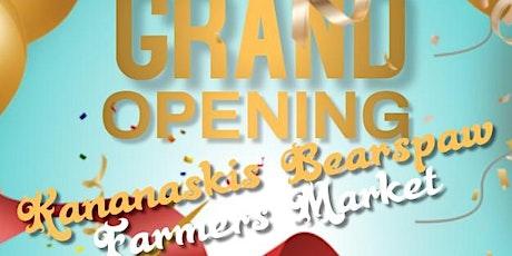 May Long Weekend Kananaskis Bearspaw  Farmers Market Grand Opening tickets