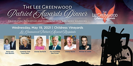 The Lee Greenwood Patriot Awards Dinner at Childress Vineyards tickets