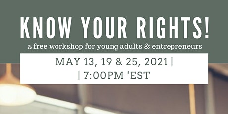 Know Your Rights! - A Free Financial Wellness Workshop! tickets
