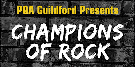 CHAMPIONS OF ROCK tickets