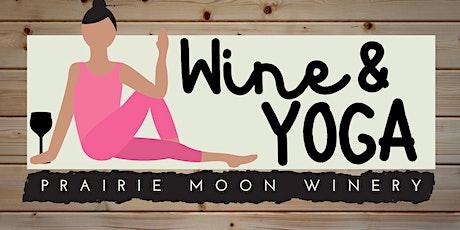 Wine & Yoga tickets