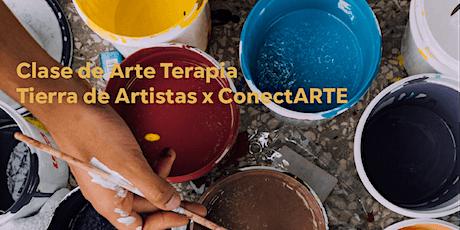 Clase de Arte Terapia bilhetes