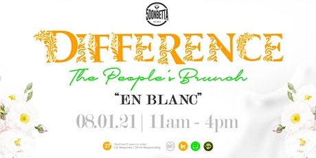 DIFFERENCE - The People's Brunch - EN BLANC tickets