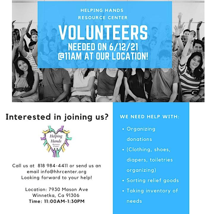 Volunteer with Helping Hands Resource Center image