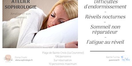 Améliorer son sommeil : séance de sophrologie billets