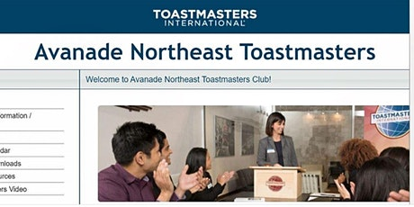 Avanade Northeast Toastmasters Club Meeting (Every 3rd Friday  at 1pm EST) tickets