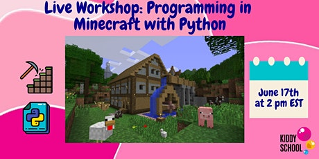 Live workshop: Programming in Minecraft with Python Tickets