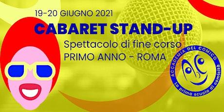 Cabaret Stand-up #RmCab1 biglietti