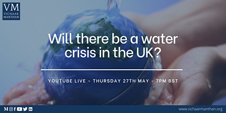 Will there be a water crisis in the UK? tickets