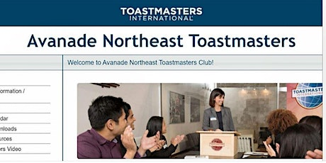 Avanade Northeast Toastmasters Club Meeting (Every 1st Friday  at 1pm EST) tickets