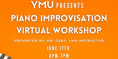 Piano Improvisation Virtual Workshop Tickets