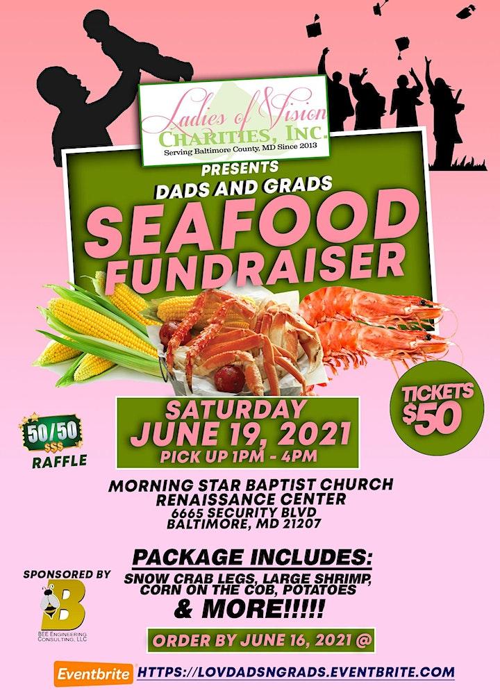 Dads N Grads Seafood Fundraiser image