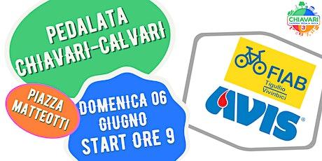 PEDALATA CHIAVARI-CALVARI by FIAB Tigullio / AVIS Chiavari biglietti